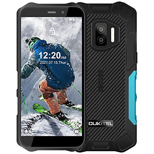 OUKITEL WP12 Pro Rugged Smartphone Economici, IP68 Impermeabile Antiurto Telefono Resistente,4GB +64GB Android 11 Dual SIM con NFC Cellulari in Offerte,13MP+8MP Camera Schermo 5,5   Batteria 4000mAh