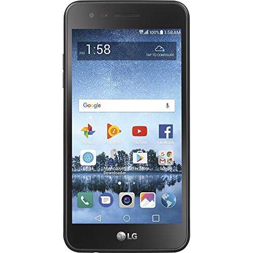 Total Wireless LG Rebel 3 4G LTE Prepaid Smartphone