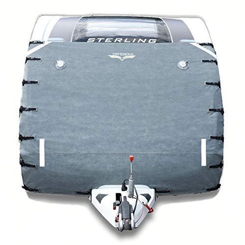 Universal-Frontschutzplane/Bugschutzplane für Wohnmobile, Dunkelgrau von Defender