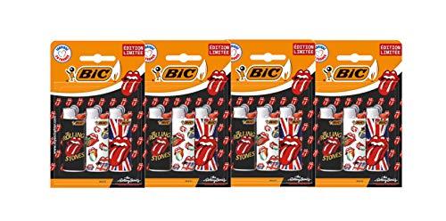Bic Maxi Flint Rolling Stone Lot de 3 briquets