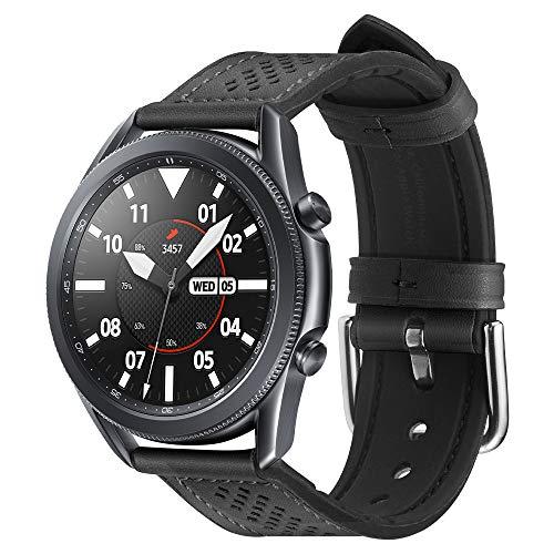 Spigen Retro Fit Compatible con Samsung Galaxy Watch 3 45mm Correa Band...