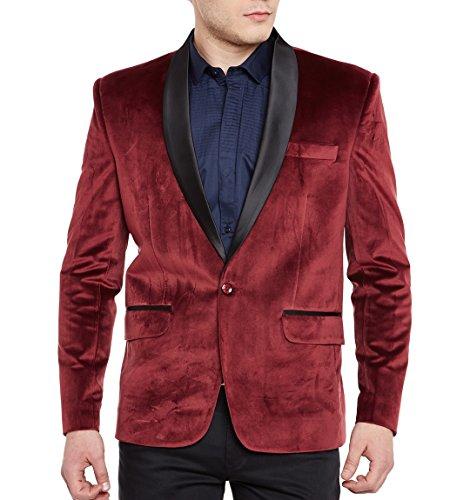 MY'S Men's 3 Piece Suit Notch Lapel Two Button Blazer Slim Fit Dress Business Wedding Party Jacket Vest Pants & Tie Set Deep Grey, S, 5'7-5'10, 140-160lbs