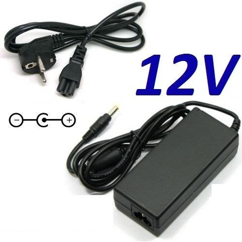 CARGADOR ESP ® Cargador Corriente 12V Reemplazo Televisor TV LED DMTECH DM-LED24XW-H3 Recambio Replacement