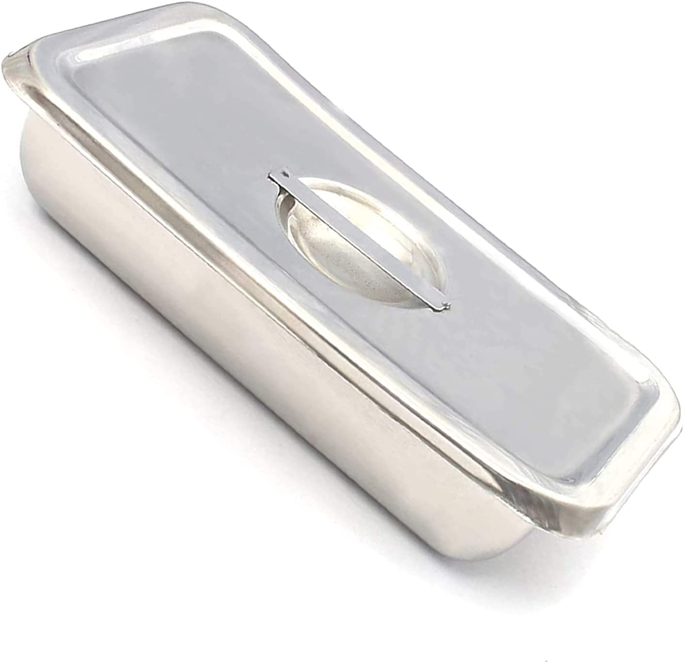LAJA Year-end annual account Imports Stainless Steel Instrument Tray Organiz Nippon regular agency 8''X6''X2''