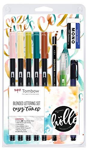 """Tombow BS-FH1, Set de Blended Lettering, couleurs""""Cozy Times"""""""