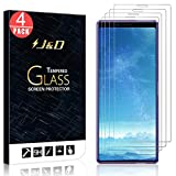 J&D Compatible for Sony Xperia 1 Glass Screen Protector (4-Pack), Not Full Coverage, Tempered Glass HD Clear Ballistic Glass Screen Protector for Xperia 1 Screen Protector