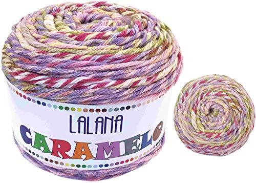 Torrijo CARAMELO 2651 Hilo Acrílico Ovillo de Lana Premium para DIY Tejer y Ganchillo (4 unidades * 150g)