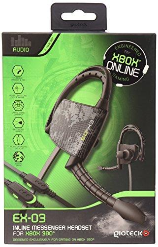 Xbox 360: EX-03 headset met kabel