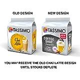 Tassimo Coffee Variety Pack - Costa Americano/Caramel Latte, Cadbury Choco, Chai Latte, Baileys Latte Macchiato Coffee Pods- 10 Packs (96 Drinks)