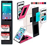 Cover for Allview P7 Lite Case | in Pink | Multifunctional