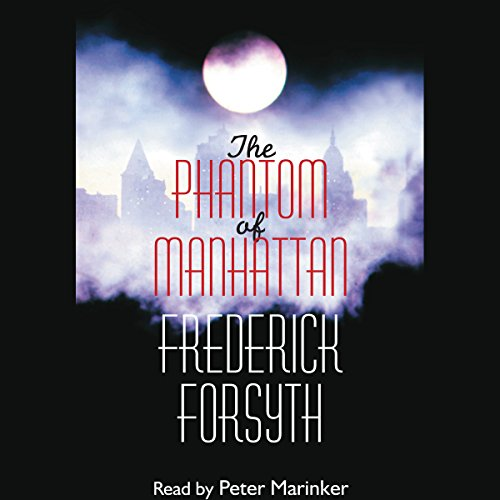 The Phantom of Manhattan audiobook cover art