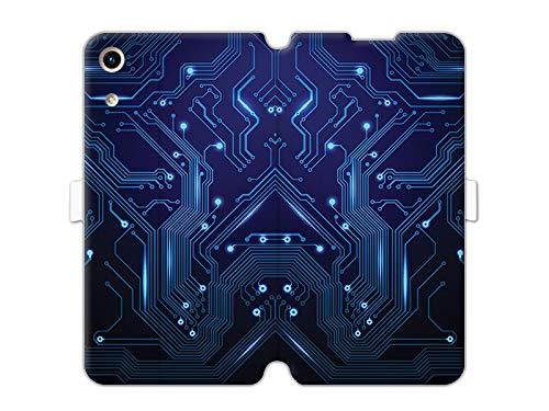 Hülle für Huawei Honor Play 8A - Hülle Wallet Book Fantastic - Integrierte Schaltkreise Handyhülle Schutzhülle Etui Hülle Cover Tasche für Handy