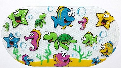 Little Cuties Tapis de bain antidérapant pour bébé, enfants, sans phatalates, sans plomb, non toxique