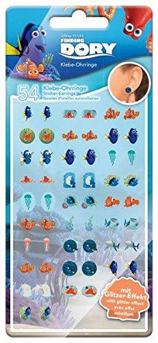 CRAZE 53516 Sticker-Ohrringe, Findet Dory, Mehrfarbig, Multi Color