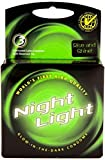 Night Light Glow In The Dark Condoms Retail Box - 3 Pack