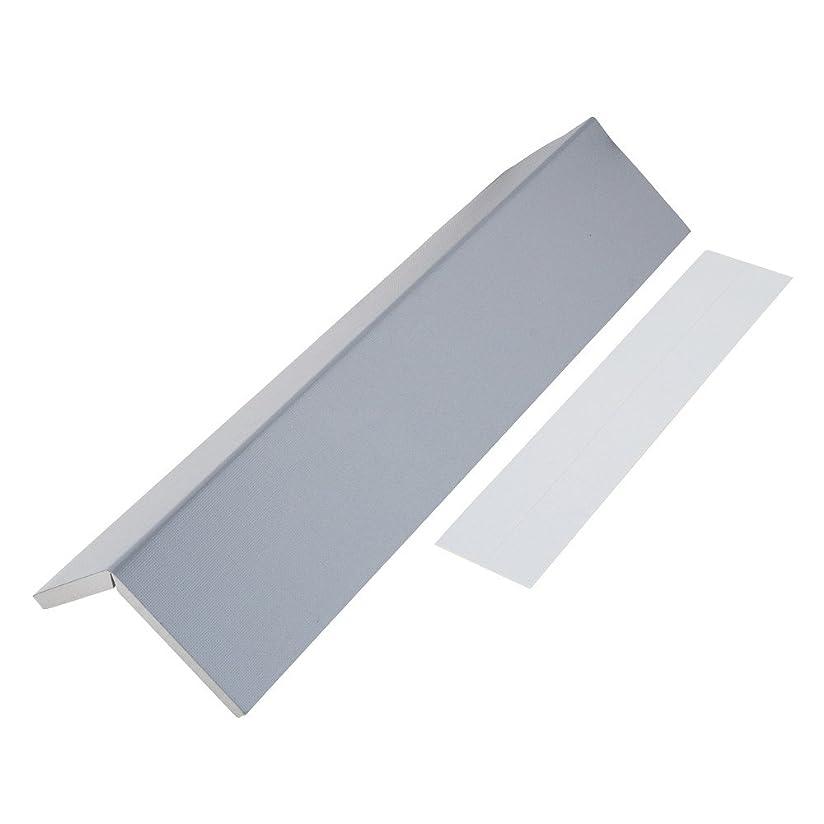 温室オープニングヒューマニスティックMYST(マイスト) 反射テープ付クッション グレー色 約450×190×厚み10mm (5119) 駐車場用