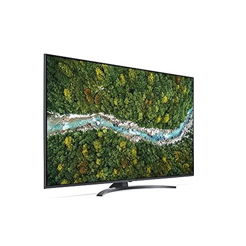 """TV 55"""" LG 55UP78006LB 3840X2160 PIXEL 2XHDMI 1XUSB DVB-S2 DVB-T2 4K ULTRA HD SMART TV WI-FI GRIGIO ITALIA"""