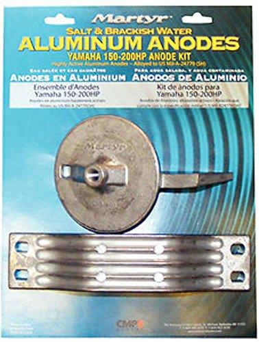 Martyr Anodes CMY150KITM Yamaha Anode Kits, Aluminium