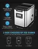 Zoom IMG-2 aicook macchina del ghiaccio per
