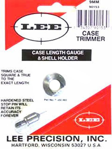 Lee Precision 90153 Galga con Shell Holder Calibre 9Mm, Multicolor, Talla Única
