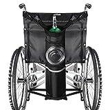 WUHX Bolsa de Cilindro de oxígeno, con Hebillas, para Uso médico, hogar, Hospital, se Adapta a Cualquier Silla de Ruedas (la mayoría de los Cilindros de oxígeno)