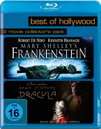 Mary Shelley's Frankenstein/Bram Stoker's Dracula - Best of Hollywood/2 Movie Collector's Pack [Blu-ray]