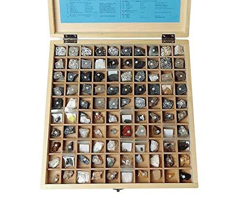 岩石標本(岩石・鉱物標本100種) /3-657-10