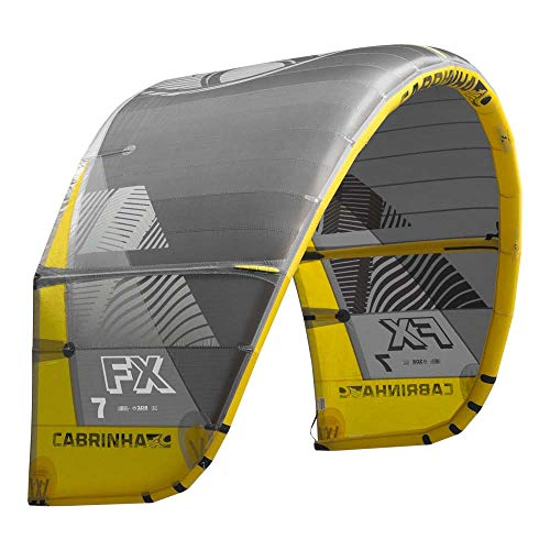 Cabrinha FX Kite 2019-Grey/Yellow-10,0