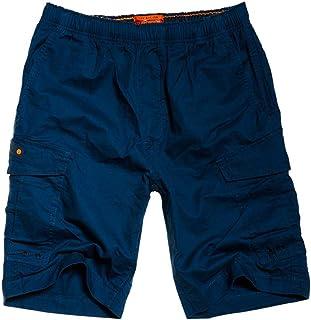 Superdry Men's World Wide Cargo Shorts, Blue