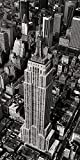 Unbekannt Poster 50 x 100 cm Empire State Building, New