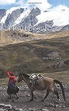 Notebook: Peru Mountain Horse South America Peruvian South American