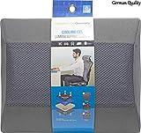 HelpAccess Cuscino Multifunzionale in Gel e Memory Foam, Sostegno ergonomico per Zona Lomb...