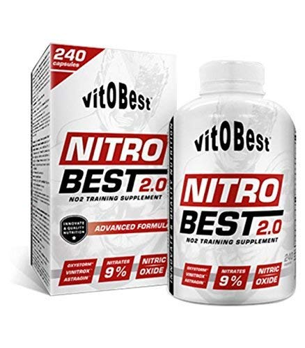 NITROBEST 2.0-240 Caps. - Suplementos Alimentación y Suplementos Deportivos - Vitobest