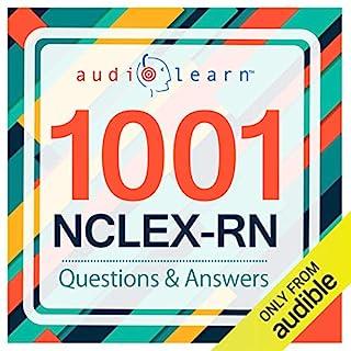 1001 NCLEX-RN Questions! audiobook cover art
