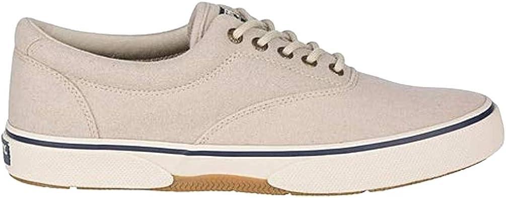 Sperry Men's, Halyard Sneaker Oatmeal Wool 11.5 M