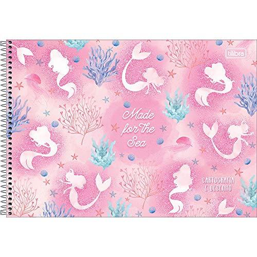 Caderno Espiral Cartografia com 80 Folhas Wonder Tilibra Capa Dura