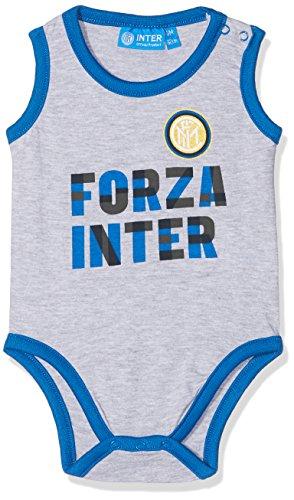 Inter (Kids Shoes) Baby-Jungen I001/AZ Bodystocking, Grigio (Grigio Mel), 74 cm(Herstellergröße:9)