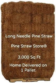 Pine Straw Mulch - Pine Needles Mulch - 3000SqFt