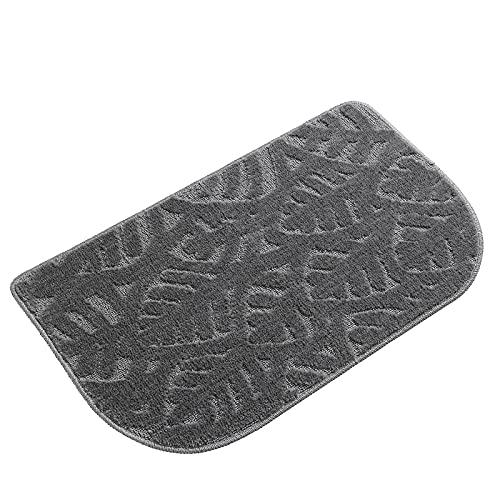 KINMEGO Kitchen Rug Mats are Made of 100% Polypropylene Half Round Rug, Indoor Doormat Durable Anti-Slip Absorbent Dirt-Resistant Kitchen Rug Pet Mat Machine Washable (30