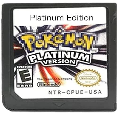 Pokemon, Heart Gold, Soul Silver, Platinum, Diamond, Pearl Version, Carte de jeu pour NDS 3DS DSI DS (édition platine)
