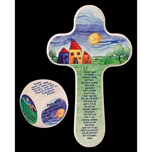 Set cadeaux religieux prière Notre Père