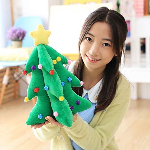 WZNING árbol de Felpa de Juguete Figuras de Navidad Relleno Suave de la muñeca de la muñeca del Animal Relleno de la Almohada Almohada del sofá Niños con la Navidad for la Muchacha
