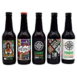 Cerveza artesanal Blanca y Verde. Caja degustación 12 unid. de 33 cl. Artesanal 100% natural. Pack ideal regalo. Producto de Cádiz