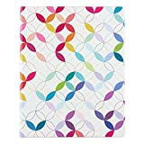 Undated Softbound Life Planner in Colorful Mid Century Circles, Yearly Monthly, and Weekly Planning, Thick, Rich, 80# Mohawk Paper, 8x10 by Erin Condren