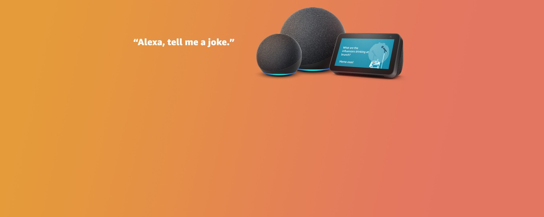 amazon.co.uk - Echo & Alexa Devices starting at just £39.99