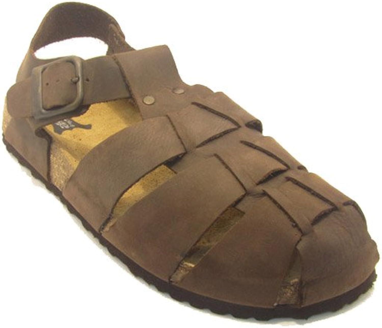 La Auténtica 15560 - Bio Sandals Sprinter with a Buckle, Unisex, Brown