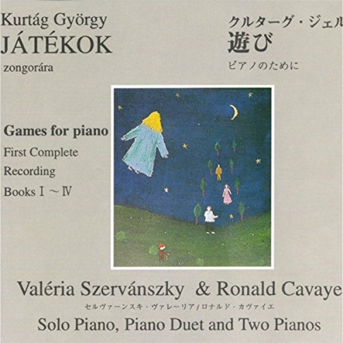 Játékok (Games) for Piano - Book 2: 82. Shadow Play – Hoquetus, 83. Hommage À Szunyogh Balázs, 84. Hommage À Kodály, 85. to and Fro, 86. Sorely (1), 87. Jerking (2)