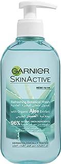 Garnier Refreshing Botanical Wash With Organic Aloe Extract 200 ml, Pack of 1