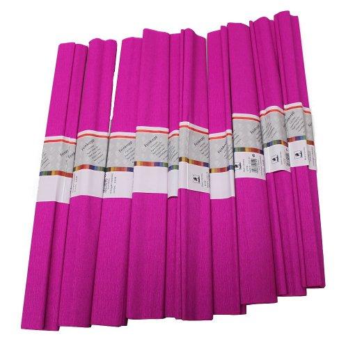 Staufen 617144 - Krepppapier 10 Rollen 50 x 250 cm, primel