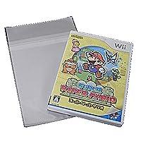OPP袋 透明 W152xH200mm 40ミクロン 静防テープ付 100枚入(Wii / PS2など)(PS-OP40S2)[厚いOPシリーズ ]【ポスト便発送】 [埼玉_自社倉庫より発送]